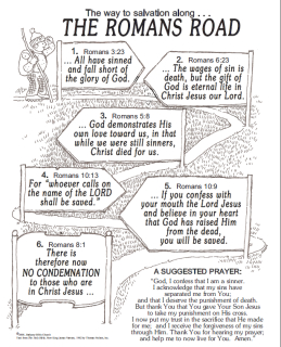 The Romans Road of Salvation - The most important decision every person faces