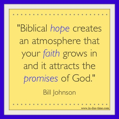 Bill Johnson - Biblical Hope womb of legacy