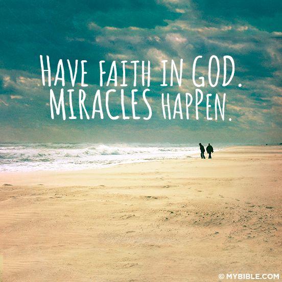 Miracles By Faith