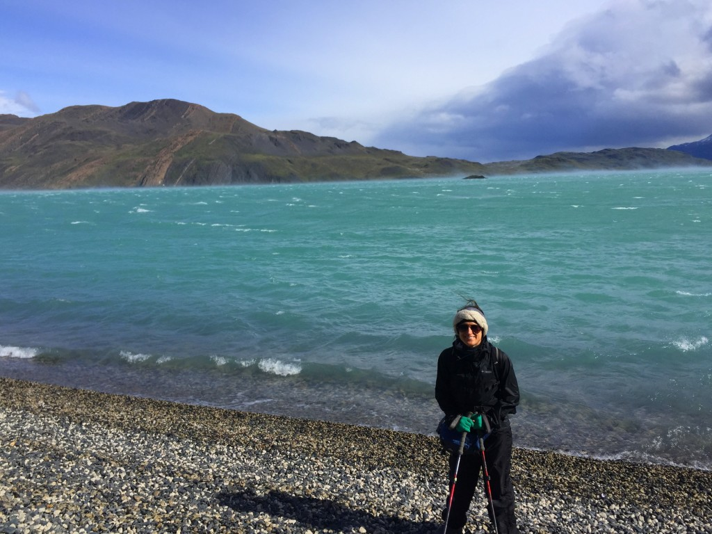 Day 1 -  W Trail Hike on Torres Del Paine - SO windy