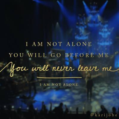 Kari Jobe I Am Not Alone