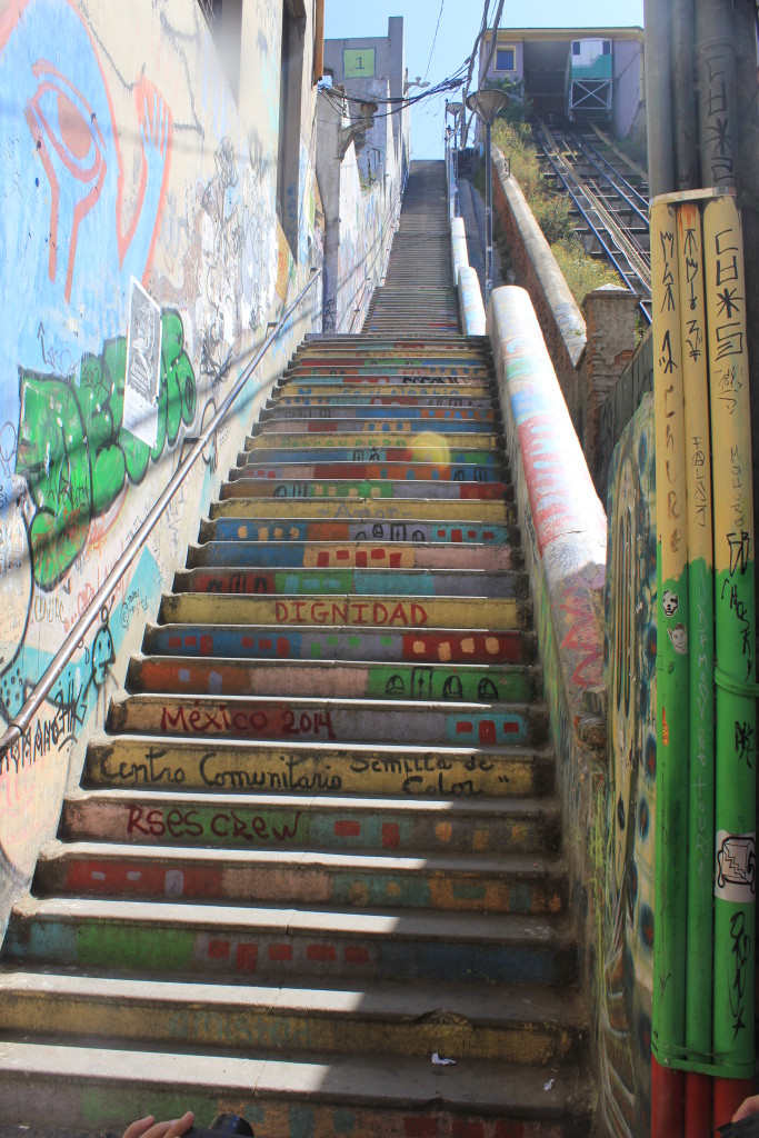 So many stairs!! Valparaiso, Chile