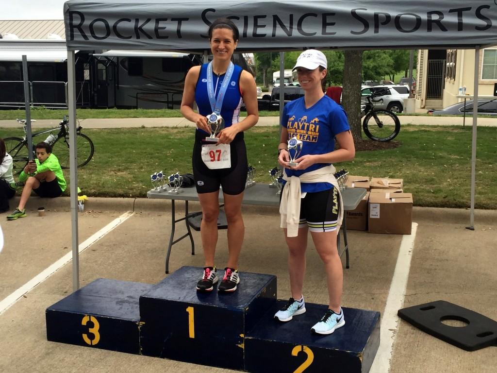 My Third Triathlon - 1st place