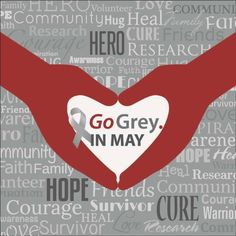 Going Grey in May for Brain Tumor Awareness Month