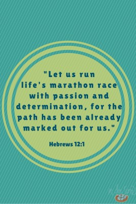 Hebrews 12 - In Due Time Blog - Run the Race
