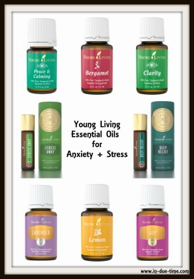 Anxiety and Stress Young Living Oils