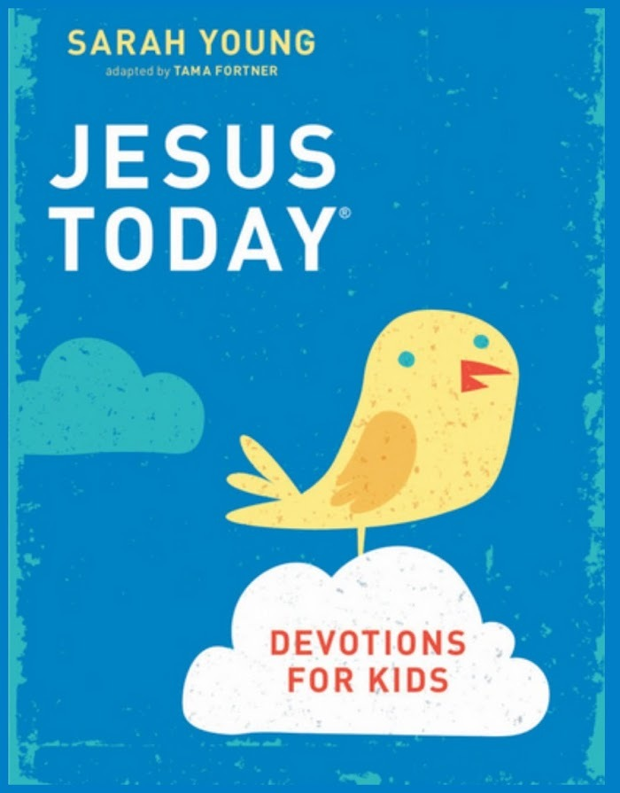 Jesus Today - devotion for kids Giveaway