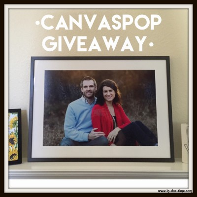 CanvasPop Framed Art Giveaway