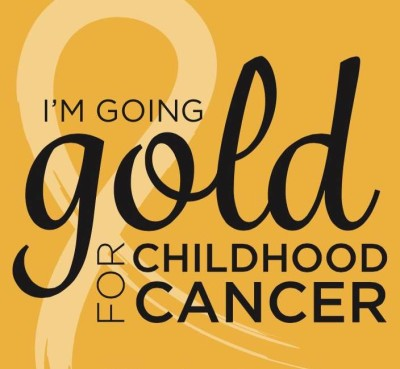 Going Gold for Childhood Cancer
