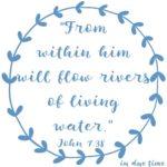 John 7:38 Rivers of Water #160