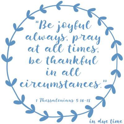 1 Thessalonians 5