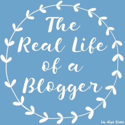 The Real Life of a Blogger