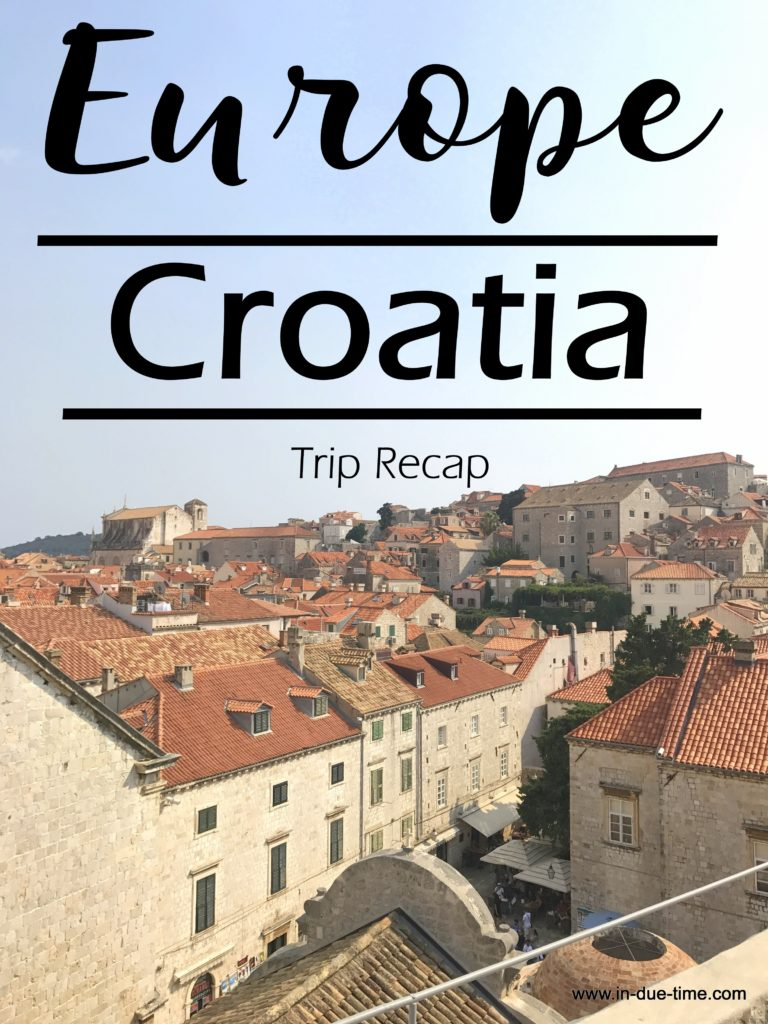 Europe Recap to Croatia