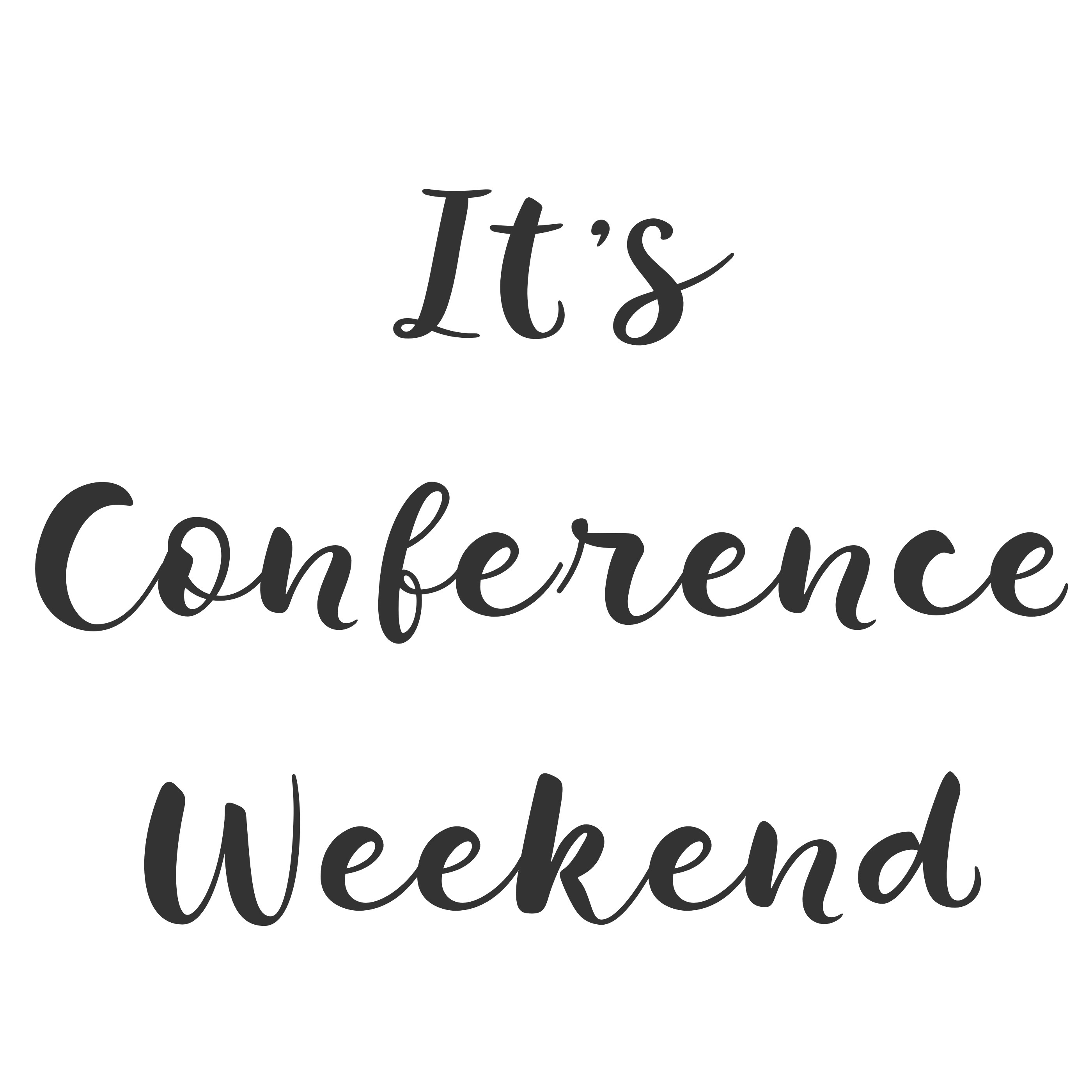 Conference Weekend