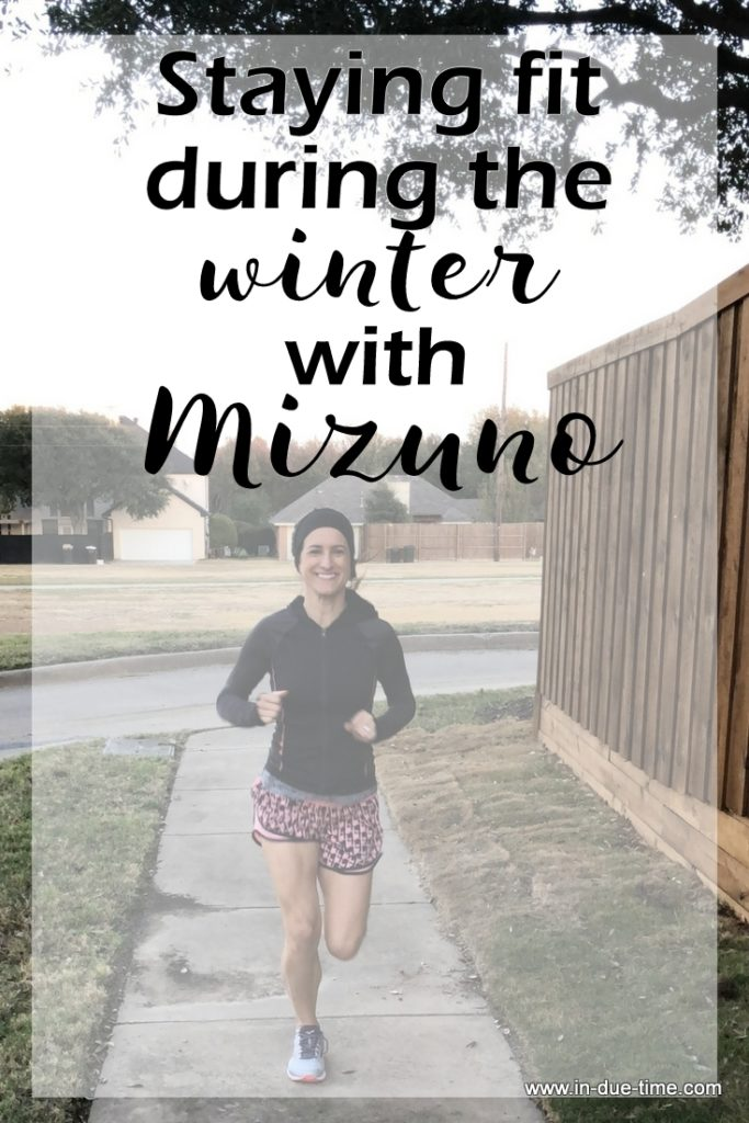 Staying Fit During the Winter with Mizuno