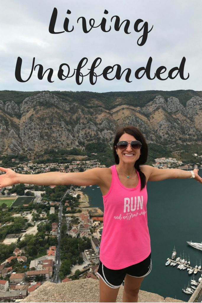 Living Unoffended